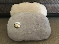 NEW MACHINE WASHABLE FLEECE PET BED CAT BED DOG BED CUSHION FOR BOTTOM OF BED