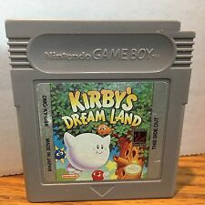 Kirby's Dream Land Nintendo Game Boy Game Cleaned Tested Working