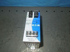 Eaton PSG120E Power Supply 100-240V Input 24VDC 5A Output Used