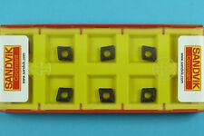 10 Sandvik CCMT 060208-PM - Grade 4215 CNC Lathe Carbide Turning Inserts