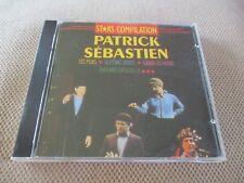 "RARE! CD ""STARS COMPILATION : PATRICK SEBASTIEN"" 16 sketches"