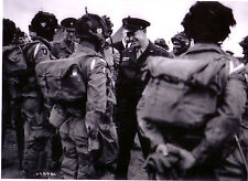 GENERAL IKE  PARA 101ST AIRBORNE DIVISION ( Photo )