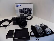 Samsung NX NX1000 20.3MP - Digital Camera Boxed And Accessories