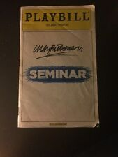 Alan Rickman Autograph Broadway Playbill