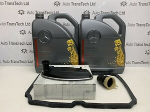 GENUINE MERCEDES BENZ 722.6 5 SPEED AUTOMATIC GEARBOX 10L OIL SERVICE KIT
