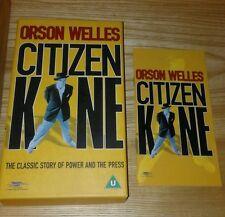 vhs video + booklet CITIZEN KANE Orson Welles, Joseph Cotton 1999 (1941 content)