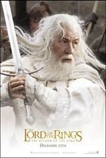THE LORD OF THE RINGS The Return Of The King Gandalf Original S/S Movie Poster