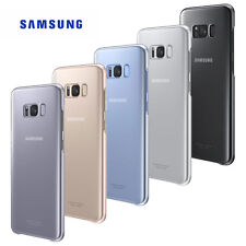 GENUINE OFFICIAL SAMSUNG CLEAR COVER/CASE FOR GALAXY S8 & S8 PLUS S8+ NEW