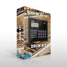 BOSS DR-550 mk2 Drum Kit Samples MPC Maschine Sounds DOWNLOAD Trap Hip Hop WAV