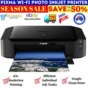 Canon Pixma IP8760 A3 Wi-Fi Photo InkJet Printer Air Print Discs CD/DVD Printing