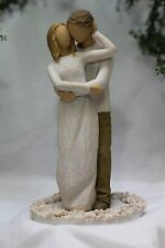 TOGETHER couple In Love Man and Woman WEDDING CAKE TOPPER top  Willow Tree GIFT