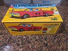 """Rare AMT 1962 Falcon Ranchero """"El Ranchero Grande"""" Model Kit"""