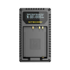 NITECORE FX1 USB Battery Charger for Fujifilm NP-W126 and NP-W126S Batteries