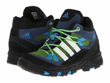 New adidas Outdoor Kids Flint II Mid I Shoes Boots Green Blue Boy 5 toddler