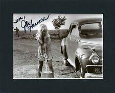JOY HARMON COOL HAND LUKE ORIGINAL HAND SIGNED 10X8 MOUNTED AUTOGRAPH PHOTO COA