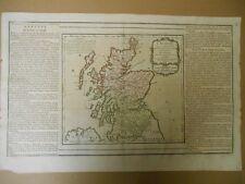 Carte d ' ECOSSE par Brion en 1766
