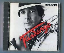 Herb Alpert CD FANDANGO 1990 USA 1 º Press # CD 3731 muy raro NEAR MINT 11-tr