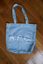 APC small  light blue tote bag