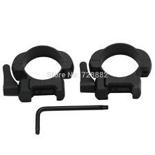 Steel Low Profile 30mm QD Scope Ring Weaver Picatinny Scope Mount Heavy Duty