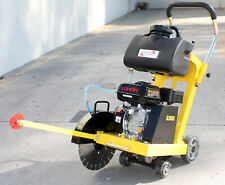 65 Hp 196cc Gas Power Walk Behind Floor Concrete Cement 14 Cut Off Saw Withblade