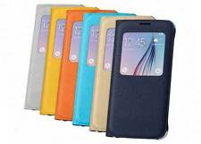Luxury Flip Leather Case Cover for Samsung Galaxy S6 - 5 Colors to Choose [Lot]