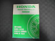 Manuel d'Atelier Atelier mode d'emploi Honda NB50M Melody Deluxe d'occasion