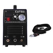 CUT50 Plasma Cutting 1-12mm CUtter Inverter DC 110/220V & Consumable Stock IN CA