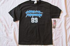 NEW BOY'S CAROLINA PANTHERS SMITH NFL TEAM APPAREL FOOTBALL BLACK T-SHIRT MEDIUM