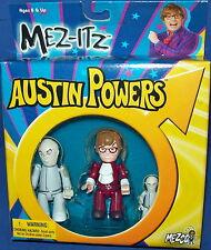 AUSTIN POWERS MEZ-ITZ Austin Power ~ Dr. Evil ~ Mini Me MEZCO new in package