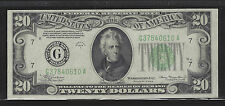 1934-A Mule, Chicago, $20 Federal Reserve Note, Choice Unc. +, Fr. 2055-G!