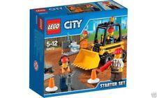 Minifiguras de LEGO, caja, ciudades