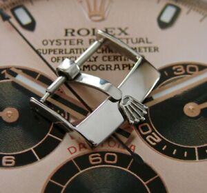 Schnalle, Schließe  mit Logo ROLEX Silber  16 mm ROLEXSA