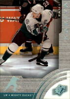 2001-02 SPx Hockey Cards Pick From List