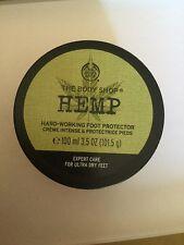 The Body Shop Hemp Foot Protector Creme. New