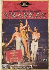TRAPEZE - BURT LANCASTER (DVD) R-4, LIKE NEW, FREE POST IN ASUTRALIA