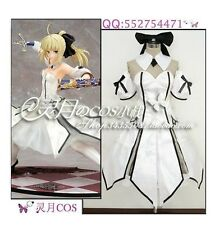 FATE ZERO SABER LILY  cosplay costume custom any size
