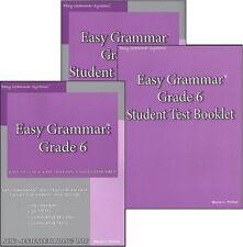 Easy Grammar Systems Grade 6 SET of 3  -  NEW