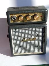 Amplificatore portatile Marshall MS-2C perfetto con clips vintage