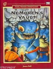 D&D 3rd ed Nemoren's Vault D20 Fiery Dragon - shrink *FS