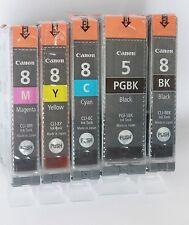 5X Original Canon PGBK 5 / CLI8 IP4200 IP4300 IP4500 TOP  ANGEBOT