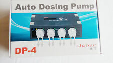 Jebao AUTO dosing pump DP-4, 4 pumpheads CHANNEL for SALTWATER AQUARIUM REEF NIB