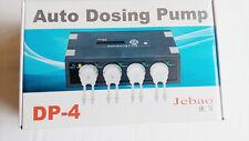 Jebao AUTO dosing pump DP-4, 4 pumpheads CHANNEL for SALTWATER AQUARIUM REEF NIB