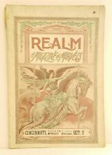 Barnum & Bailey Circus REALM MAGAZINE Cincinnati Norwood Ohio 1903 photos