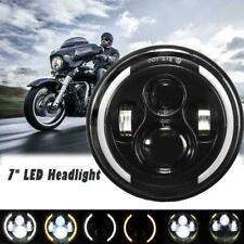"7""inch LED Headlight 60W Hi-Lo Lamp for Honda Ymaha Suzuki Davidson Motorcycle"