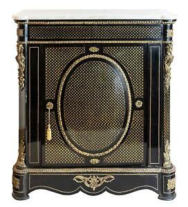 French XIX century Napoleon III / Boulle cabinet