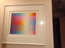 Yaacov Agam from the Magic Rainbow II Series Signed & Numbered Serigraph