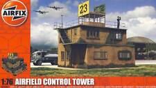 Airfix Airfield Control Tower Kontrollurm WW2 Flugfeld 1:76 /72 Flugplatz Modell