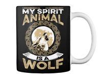 Wolf Spirit Animal - My Is A Gift Coffee Mug
