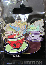 Disney WDI - Mad Hatter's Teacups - Tinker Bell Pin