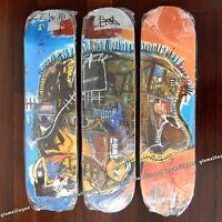 JEAN-MICHEL BASQUIAT SKULL Iconic Skateboard Skate Deck Set of 3 Art NEW SEALED